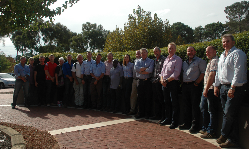 Pork producers at WAPPA Pig Day Out