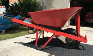 Motorised Wheelbarrow Honda