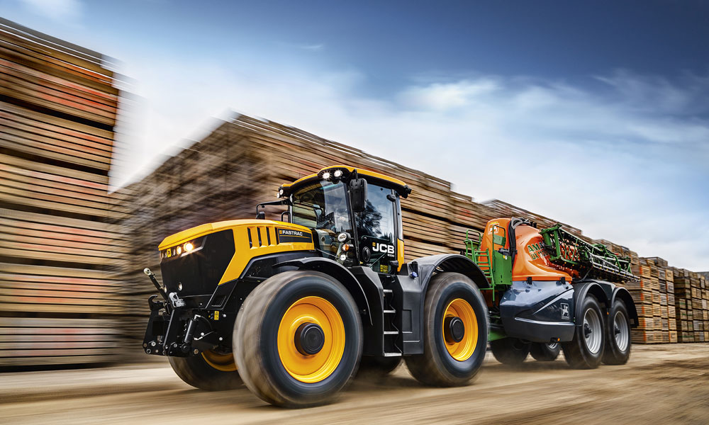 All New Flagship Jcb Fastrac Launched In 25th Anniversary