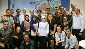 Fifteen delegates from Indonesia met with AFMA to discuss fisheries management