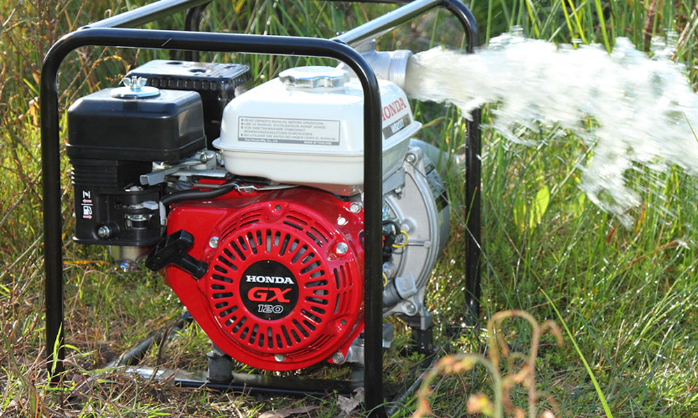 how to change oil in lawn mower honda