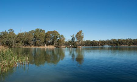 murray darling rivers nsw stock image