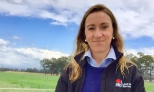 Land Services Officer Kate McCarthy