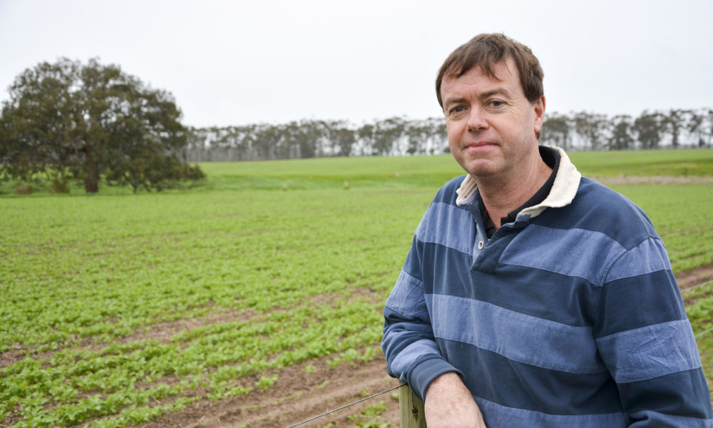 Nicon Rural Services consultant Cam Nicholson, who will address coming GRDC Farm Business Update events in WA, stresses that decision making is a skill that can be learnt and practised. Photo by GRDC.
