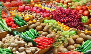 vegetable horde stock image