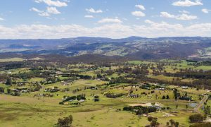 nsw farming area stock image