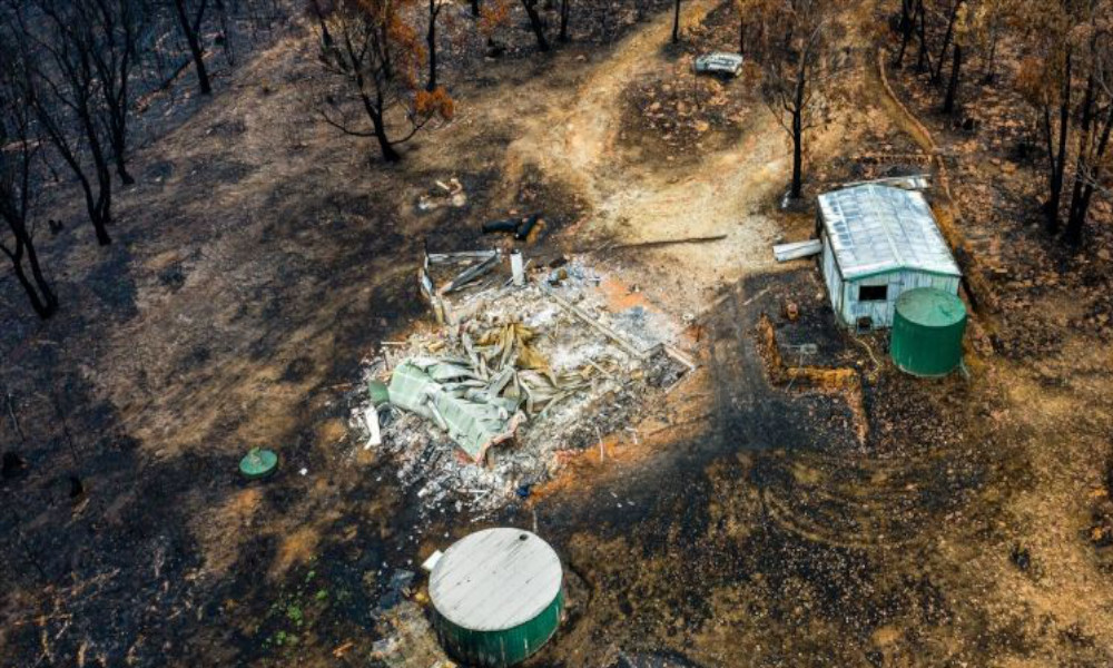 A-property-damaged-by-the-NSW-bushfires