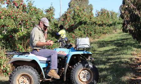 Farm Biosecurity interviews 1200 producers from across Australia every couple of years, no matter where you happen to be (as long as you have reception)