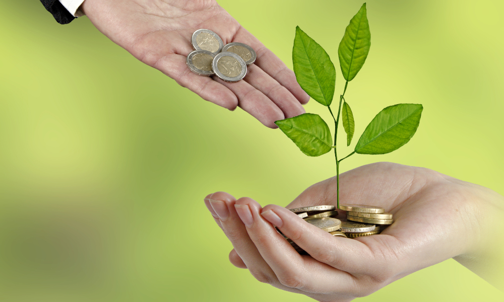 agriculture funding stock image