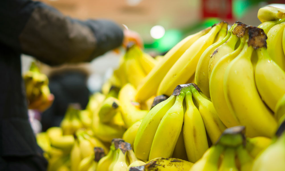 bananas stock image